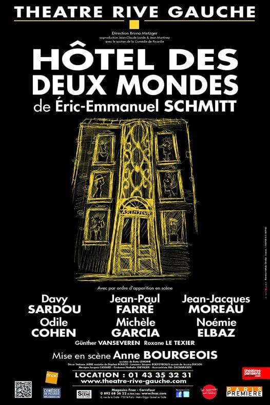 Davy Sardou au Théâtre Rive Gauche