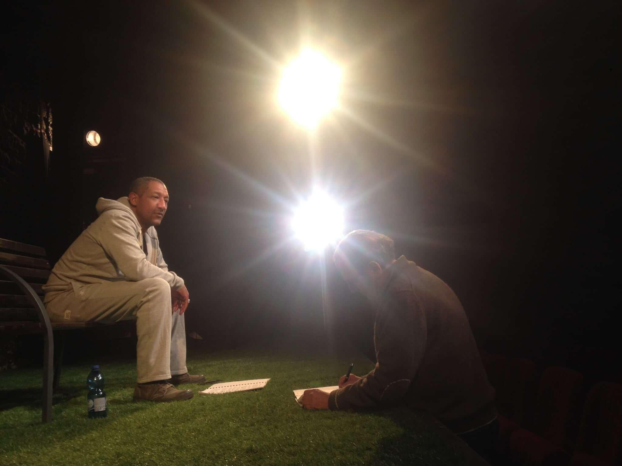 Edouard Montoute mis en scène par Raymond Acquaviva