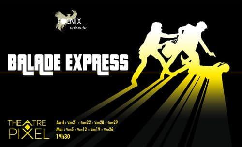 Des anciens au Théâtre Pixel dans Balade Express