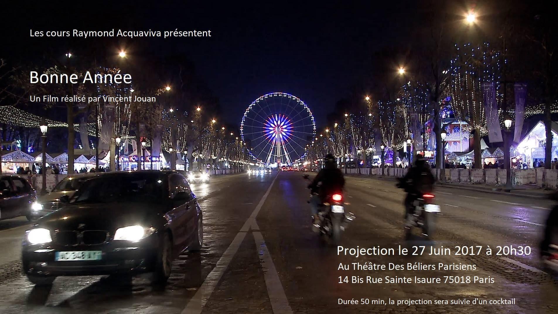 Bonne Année un film de Vincent Jouan