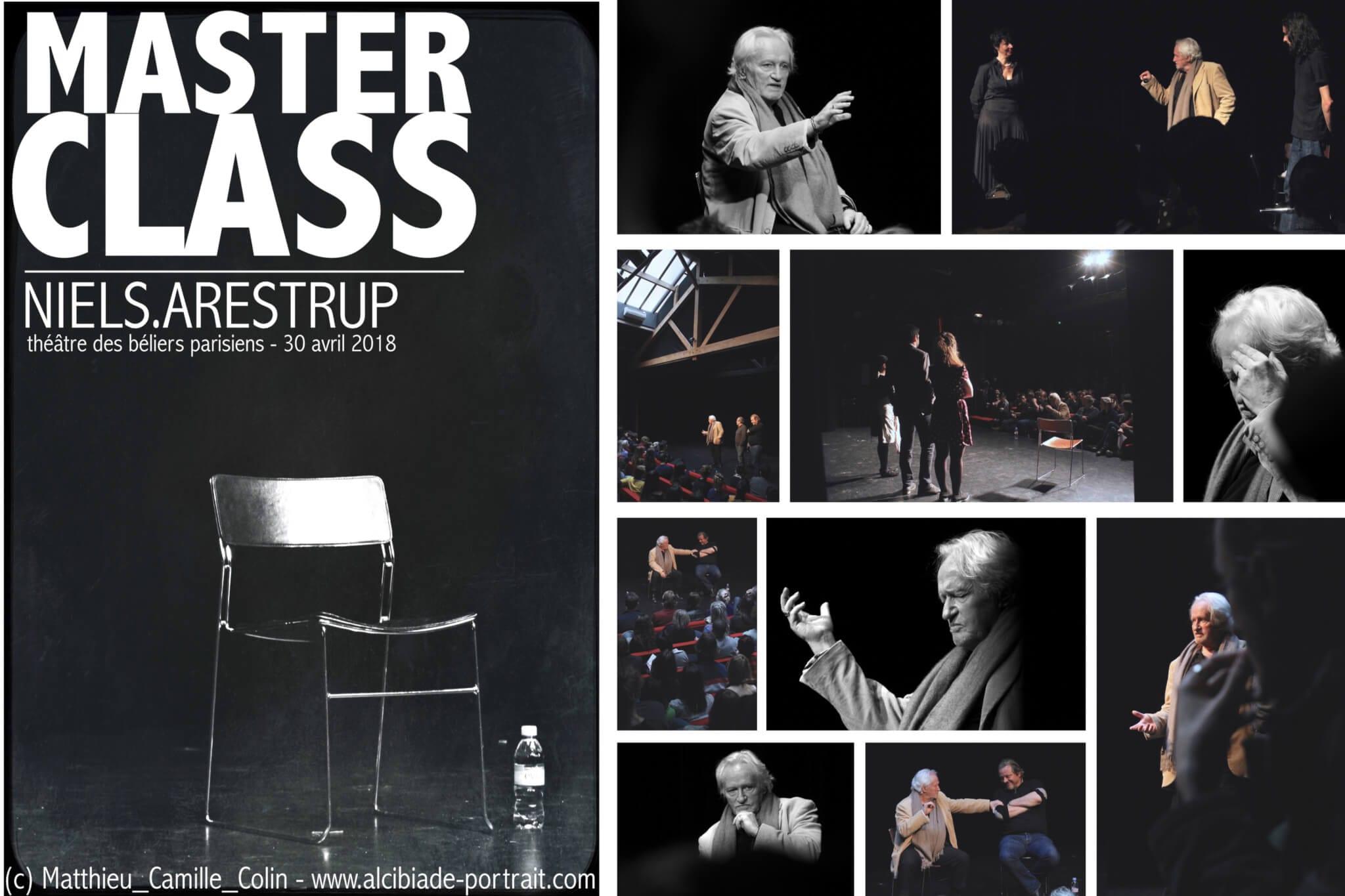 Masterclass de Niels Arestrup