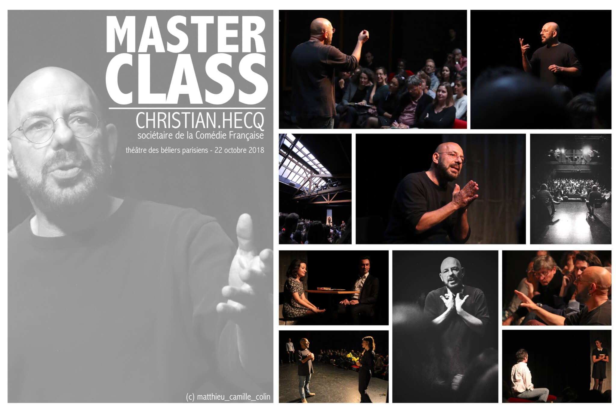 Masterclass de Christian Hecq