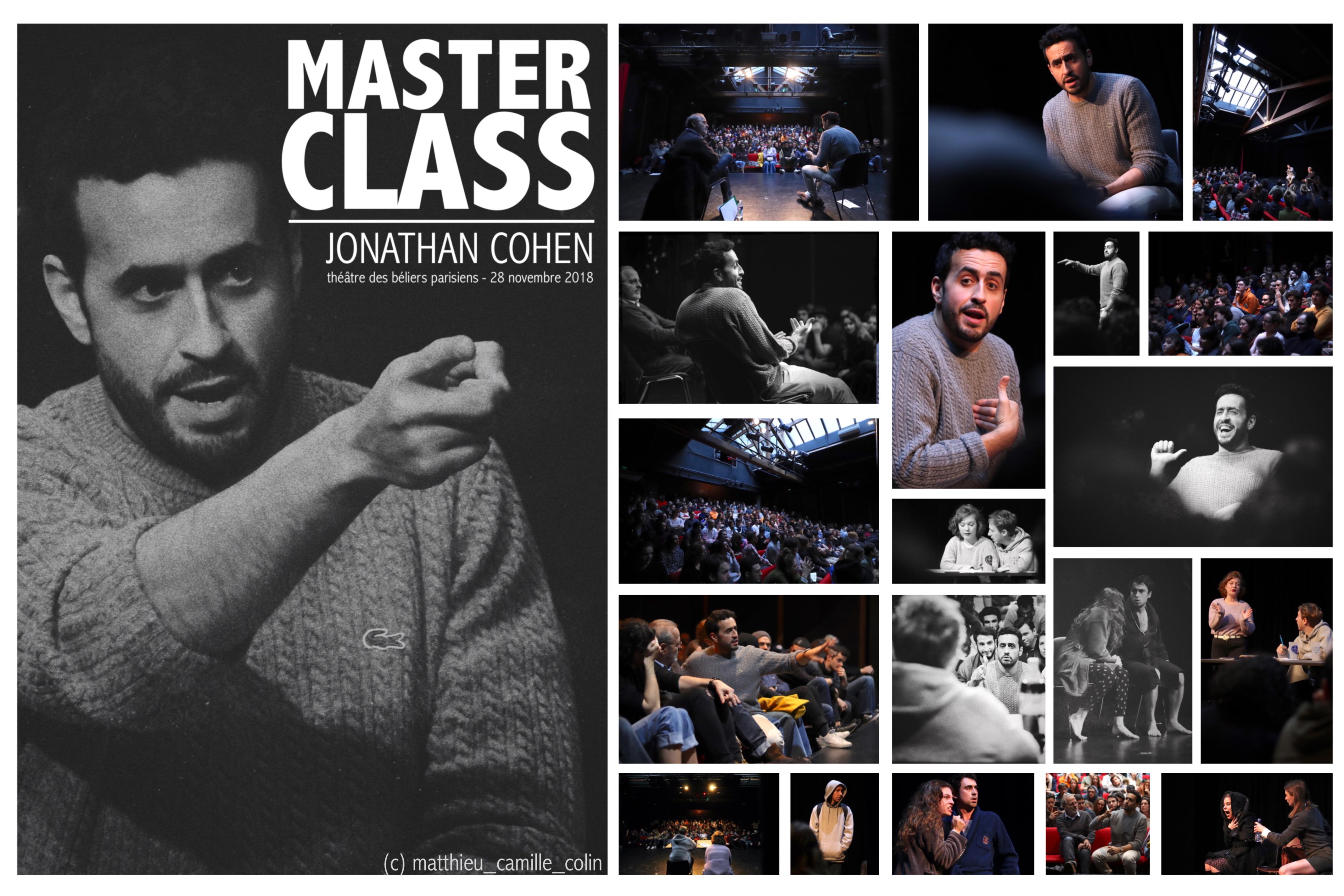 Master Class Jonathan Cohen