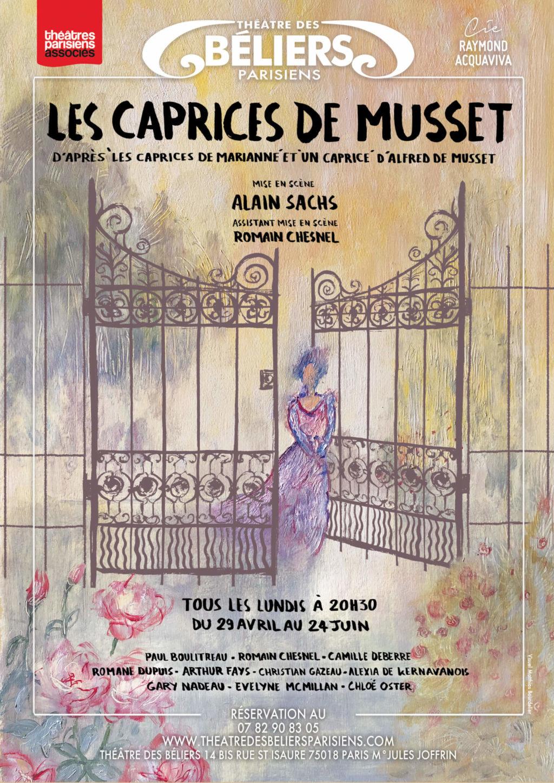 Les Caprices de Musset aux Béliers Parisiens