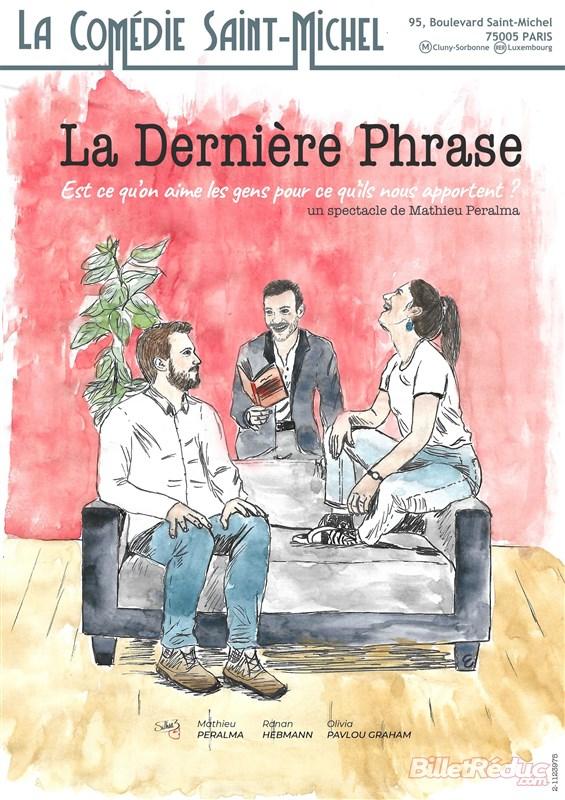 Actualités Théâtre La dernière phrase